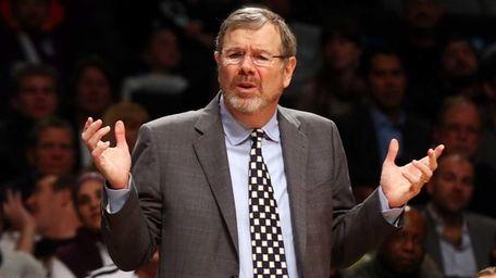Interim head coach P.J. Carlesimo of the Brooklyn