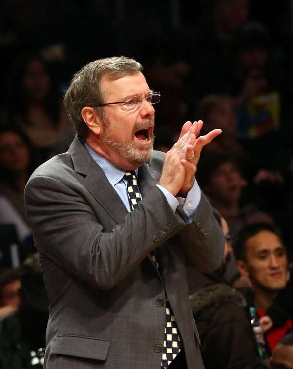 Interim head coach P.J. Carlesimo of the Brooklyn