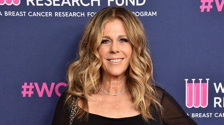 Rita Wilson, seen on Feb. 27, 2020, in