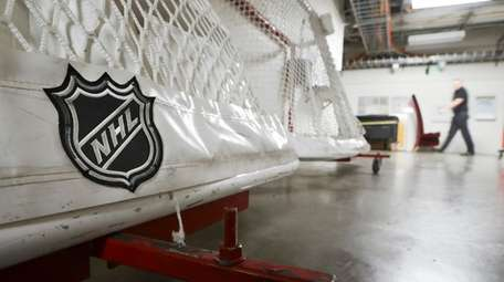 Goals used by the Nashville Predators are stored
