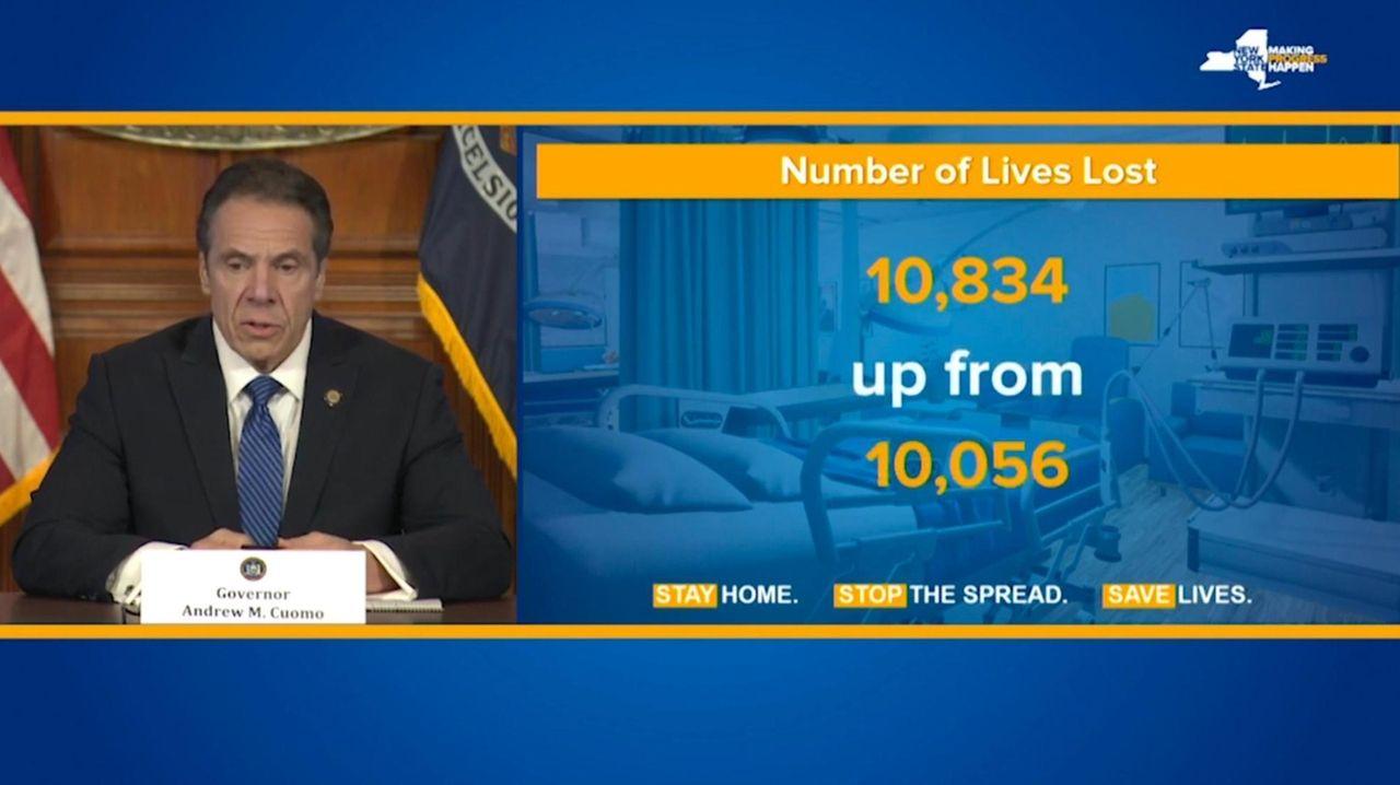 Gov. Andrew M. Cuomo on Tuesday said 778