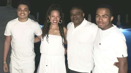 Marcus Kershaw, Dr. Michele Reed, Scott Kershaw and