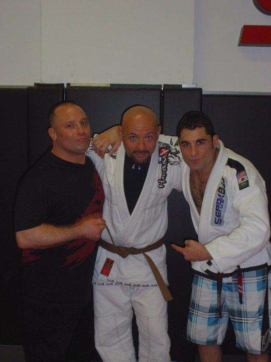Billy Bottone, center, is a brown belt at