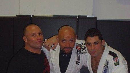 Billy Bottone, center, is a brown belt at