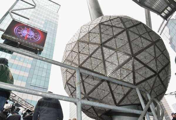 The 2013 Times Square New Year's Eve Ball