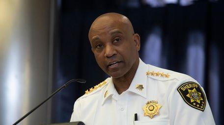 A judge said Sheriff Errol Toulon and his