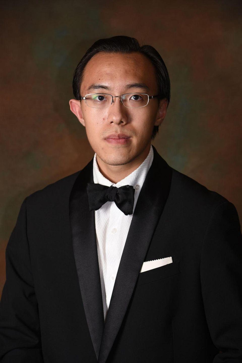Syosset High School's Siyu Yang believes playing music