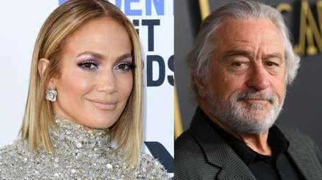 Jennifer Lopez and Robert De Niro, pictured in