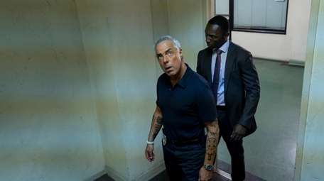 Titus Welliver and Jamie Hector and Amazon Prime's