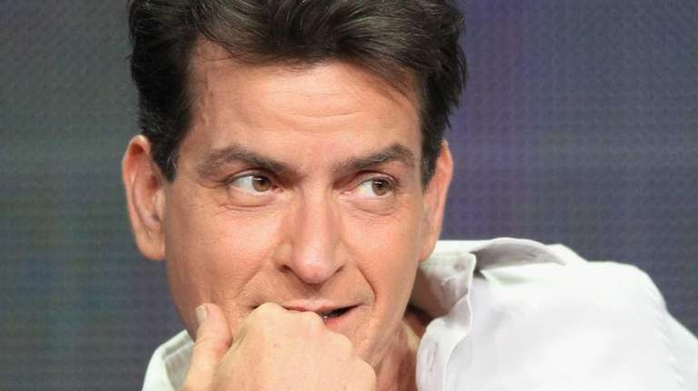 "Actor Charlie Sheen speaks onstage at the ""Anger"