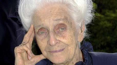Rome's mayor says biologist Rita Levi-Montalcini, who conducted
