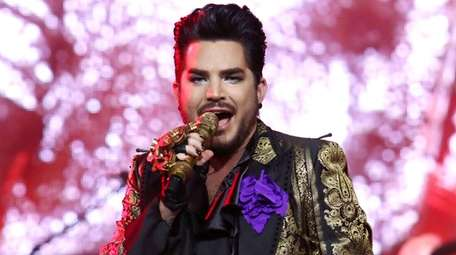 Singer Adam Lambert is among the performers of