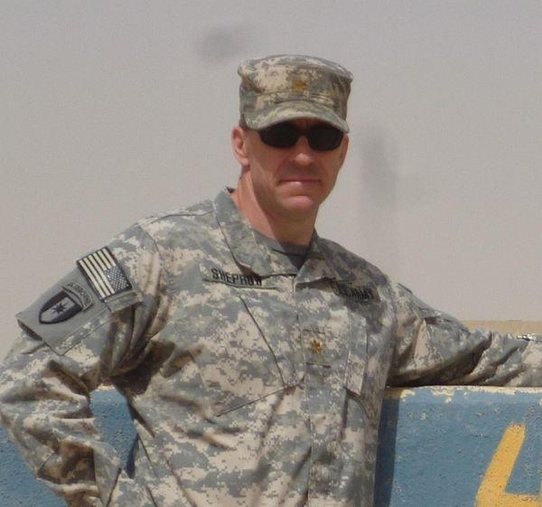 Major Warren Sheprow featured in an episode of