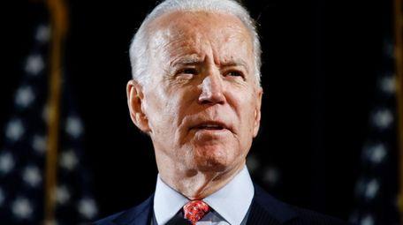 Former Vice President Joe Biden on March 12.