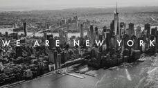Lower Manhattan is seen in a screenshot of