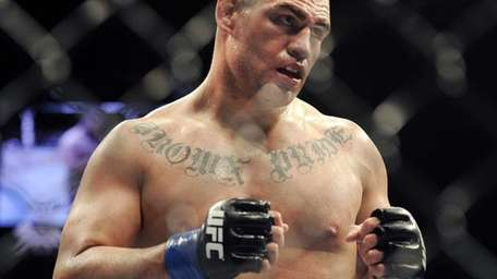 Cain Velasquez during his UFC 155 heavyweight championship