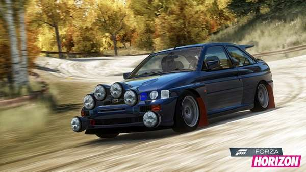 Most of the gameplay in Forza Horizon, available