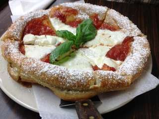 Crazy and crazy-good: the zeppole pizza at Palermo