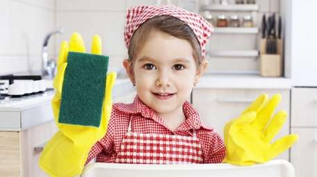 Merry Maids offers cleaning hacks to get kids