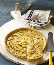 This classic apple tart recipe can be found