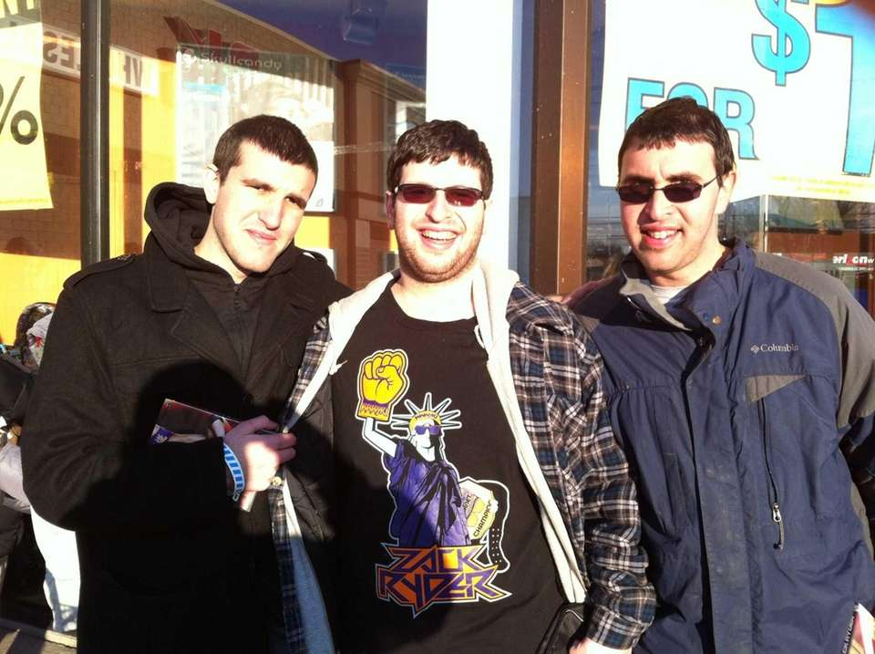 From left, brothers Josh Danishefsky, 18, Adam Danishefsky