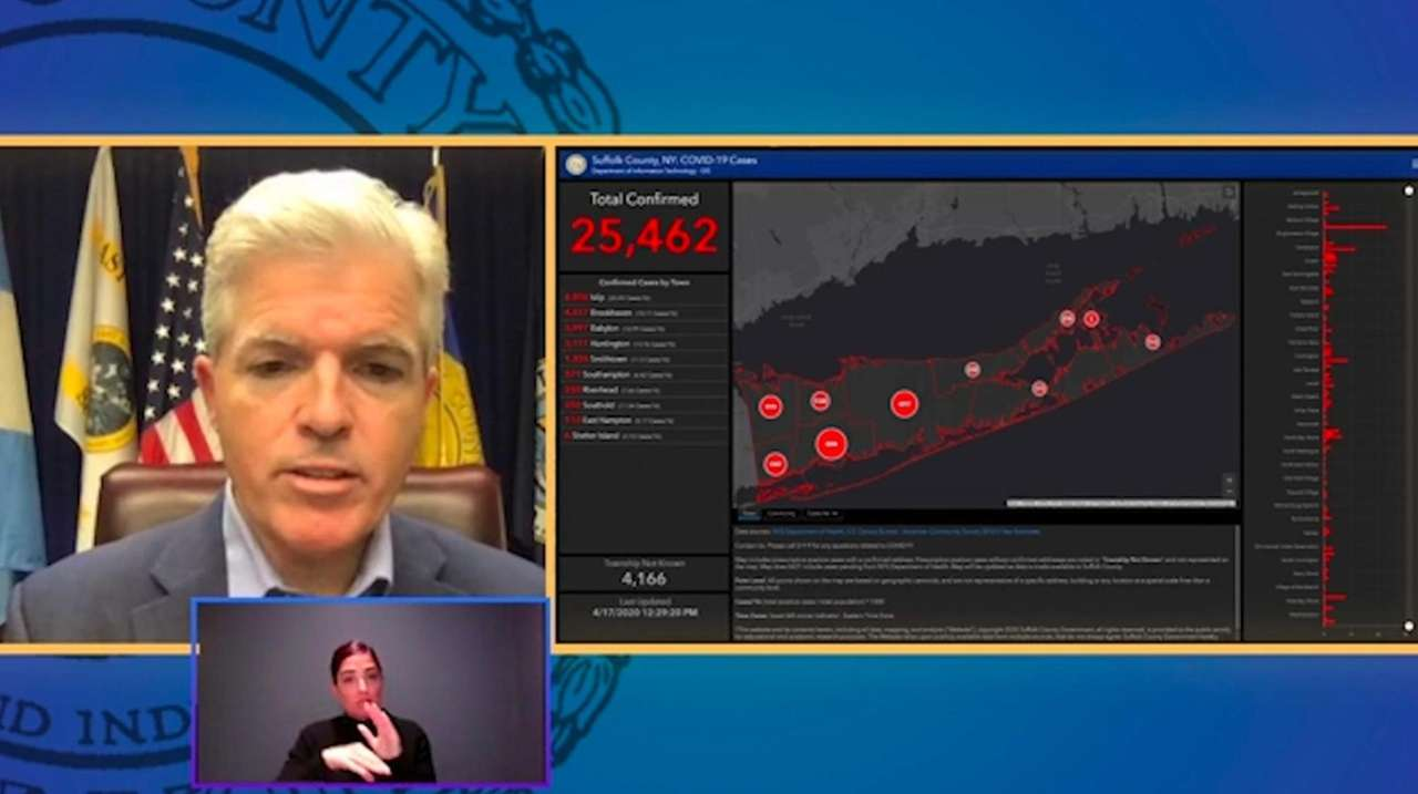 Suffolk County Executive Steve Bellone said Friday that