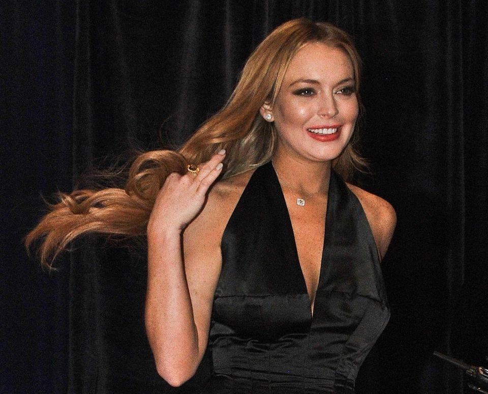 6. Lindsay Lohan's strikes -- and strikes again