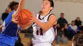 Garden City guard Spencer Bais drives to the
