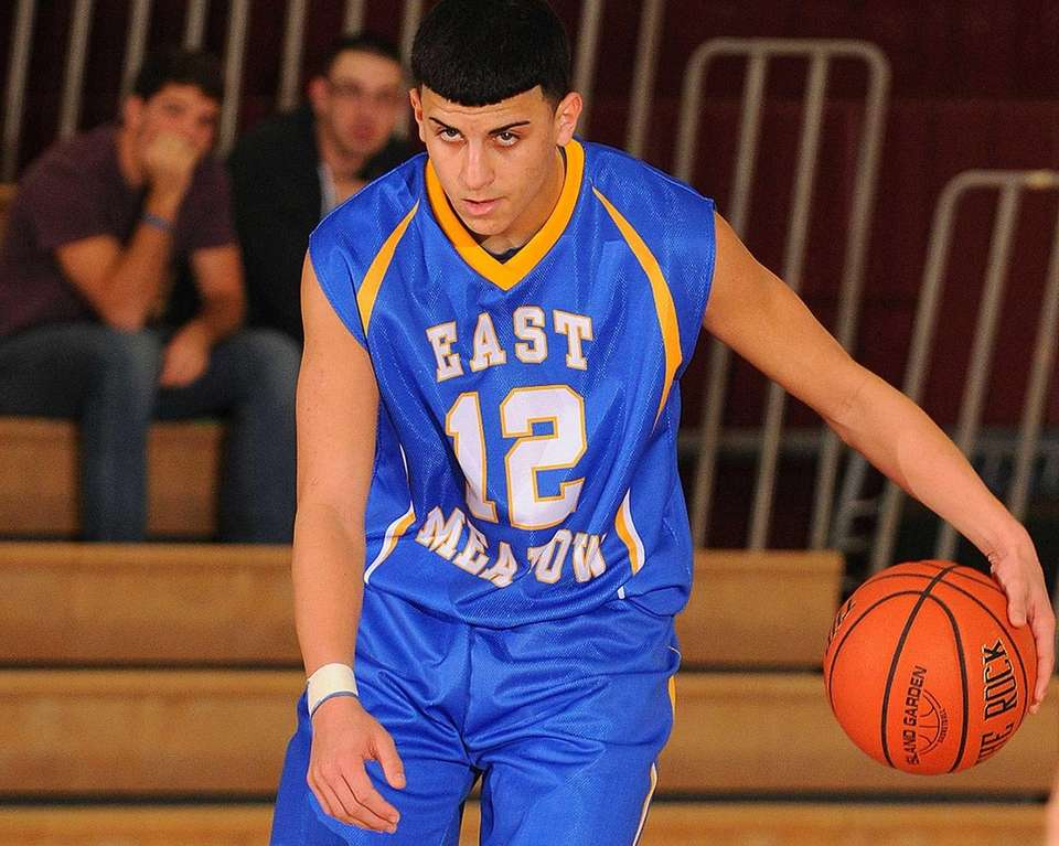 East Meadow guard Cody Zafran looks to make