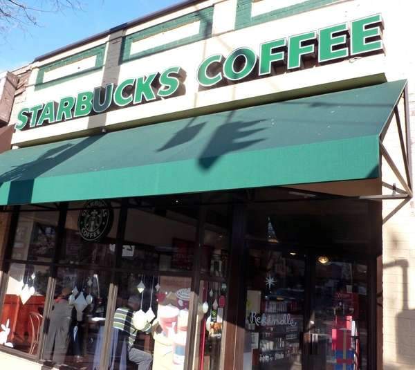 Starbucks of Huntington Village. (Nov. 23, 2012)