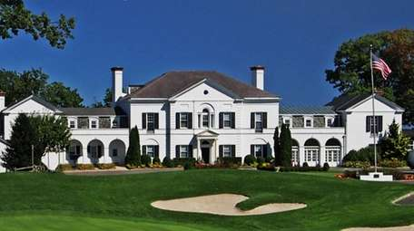 The Nissequogue clubhouse on the golf course.