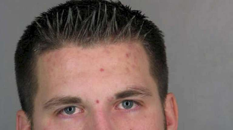 Hugh Murray, 26, of Levittown, faces charges of