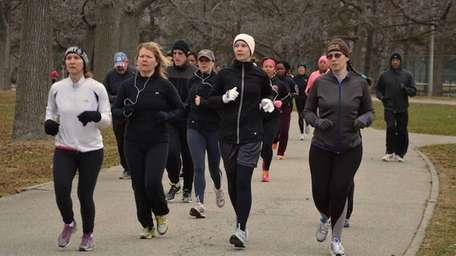 Hundreds participated in the 36th annual New Year's
