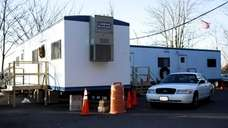 Trailers are currently housing the Asharoken Police Department