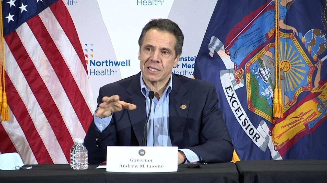 On Sunday, Governor Andrew M. Cuomo held a