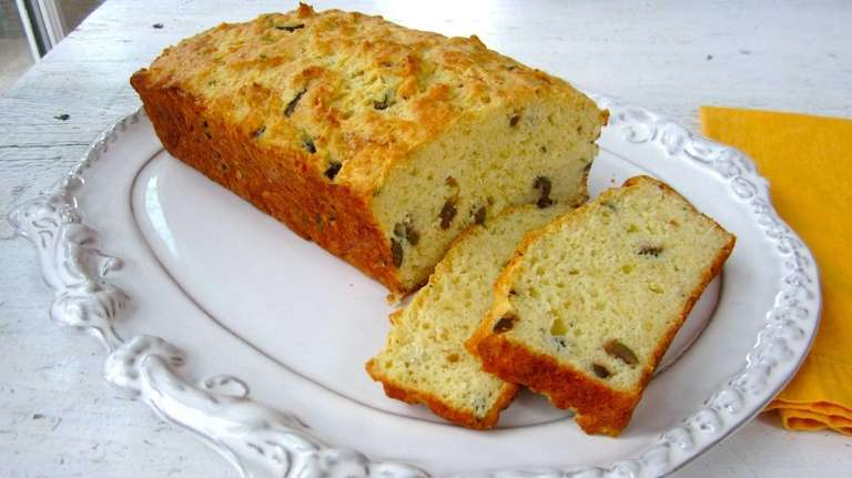 Buttermilk gives this savory quick bread a tender