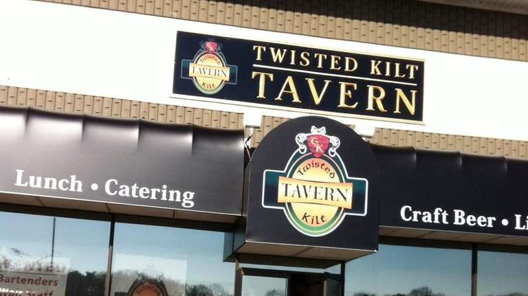 This is the new Twisted Kilt Tavern in