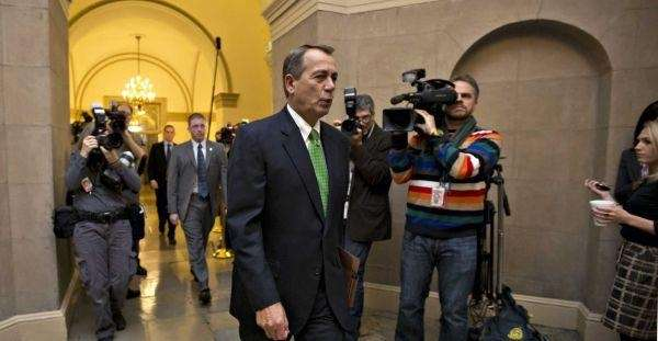 House Speaker John Boehner (R-Ohio) in Washington. (Jan