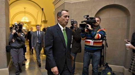 House Speaker John Boehner (R-Ohio) in Washington. (Jan