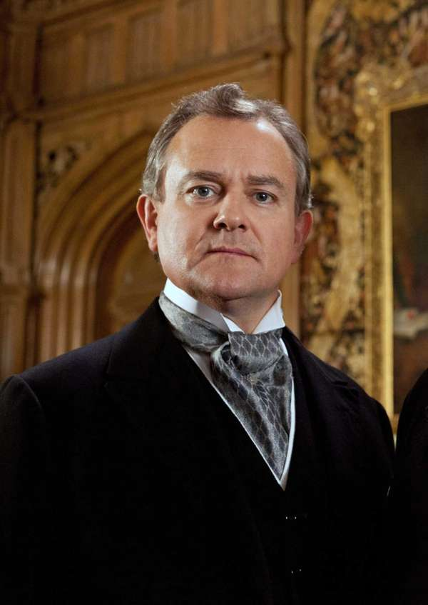 Hugh Bonneville plays the aristocratic Early of Grantham