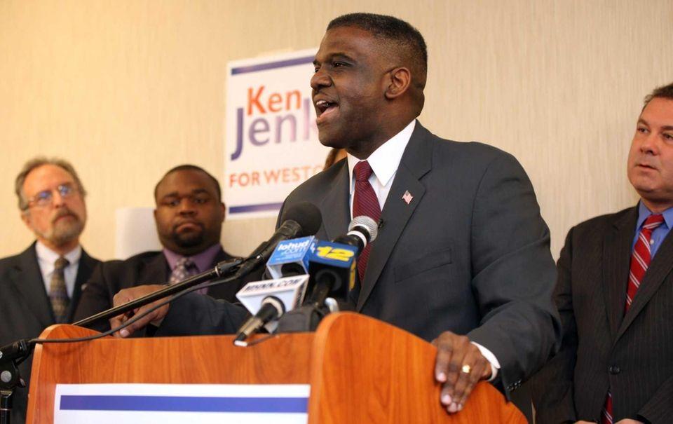 Westchester County Board of Legislators chairman Ken Jenkins