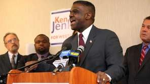 Westchester County Board of Legislators chairman Ken Jenkins