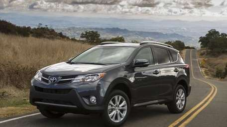 Toyota says the 2013 RAV4's new look is