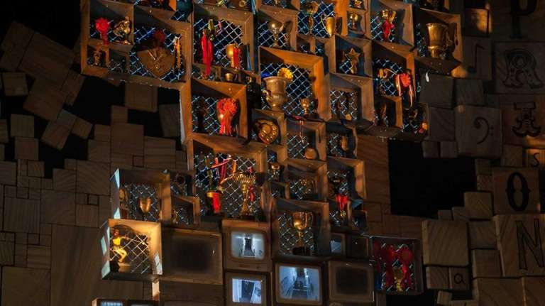 David Leonard as Miss Trunchbull in