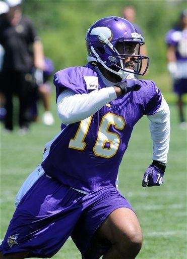 Former Minnesota Vikings wide receiver Emmanuel Arceneaux is