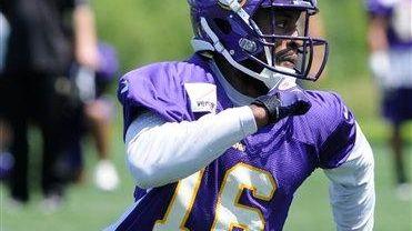 Former Minnesota Vikings wide receiver Emmanuel Arceneaux is