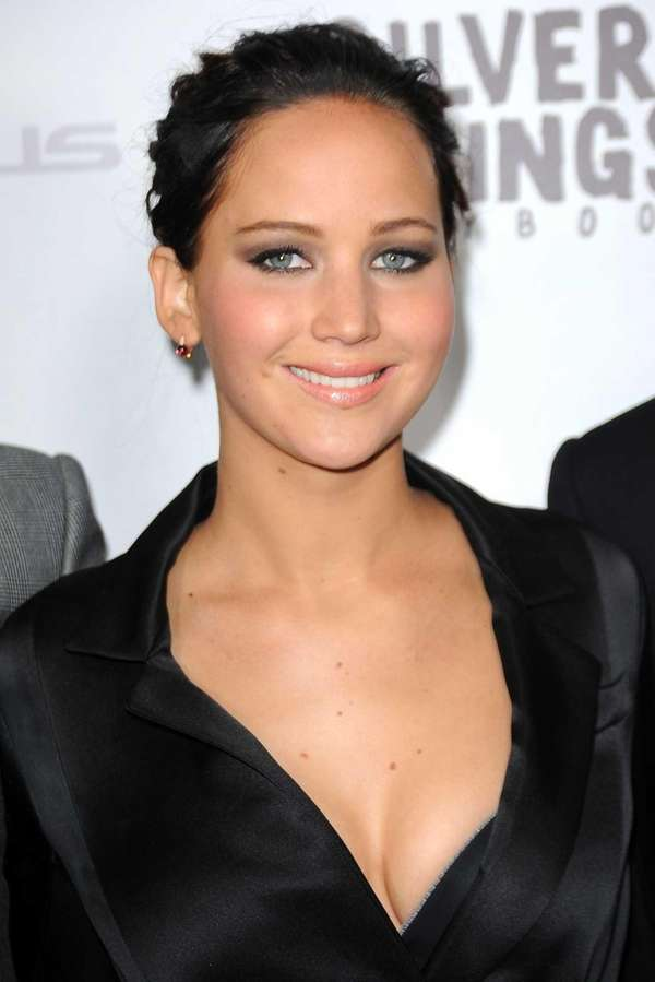 "Jennifer Lawrence at a special screening for ""SIlver"
