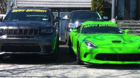 A 2018 Jeep Trackhawk and a 2016 Dodge