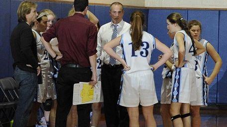Our Lady of Mercy head coach John Kiffel