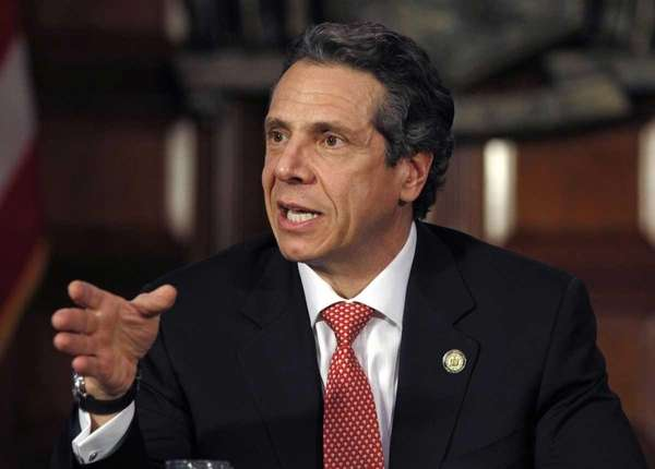 File photo of New York Gov. Andrew Cuomo.